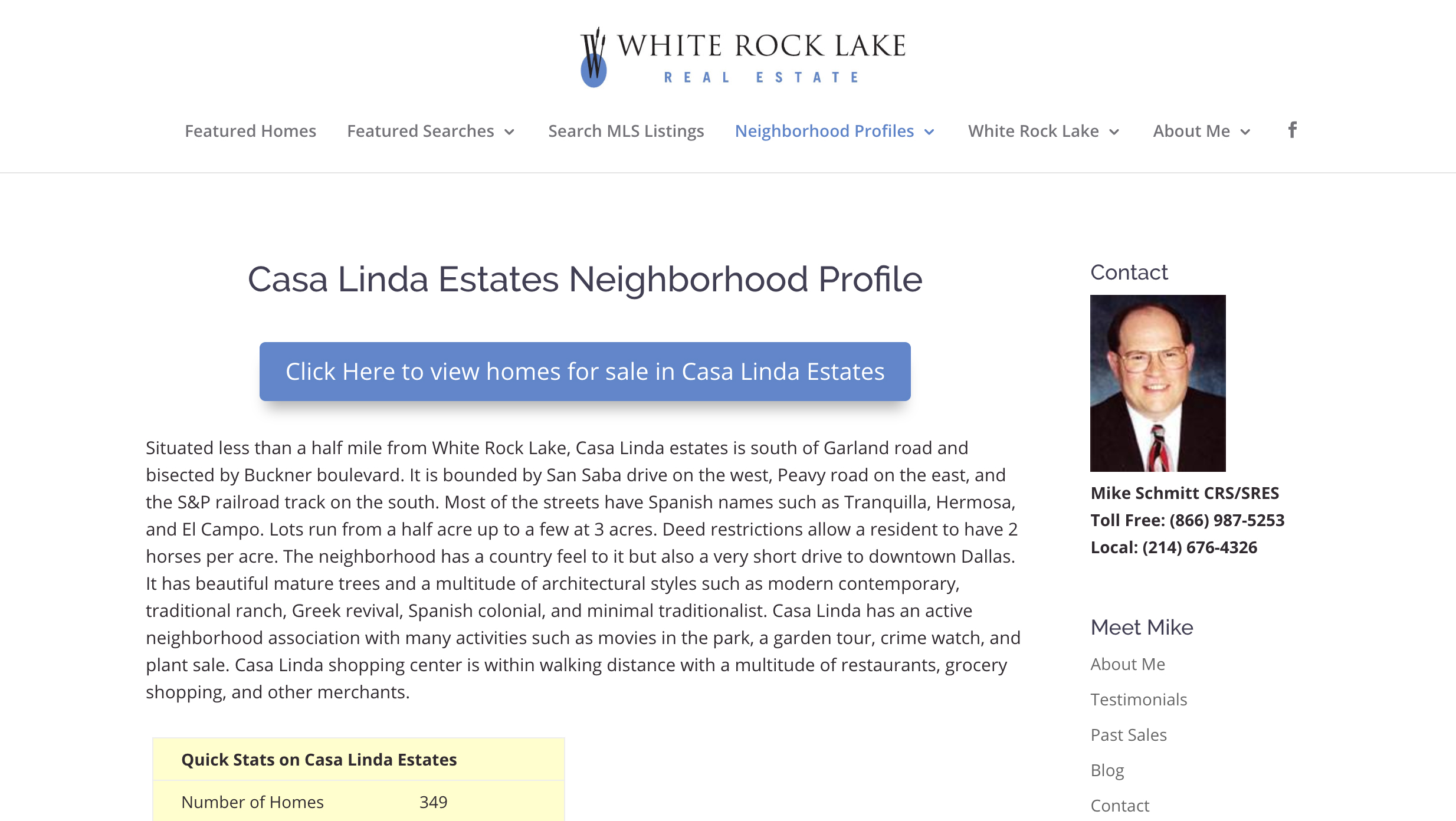 White Rock Lake Properties - Slide 1